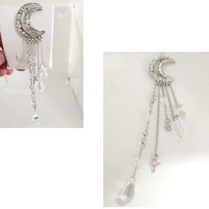 NWOT Moon & charms hair clip
